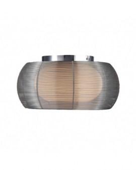 RABAT! DO -18% ZUMA MX1104-2 TANGO LAMPA SUFITOWA SREBRNA