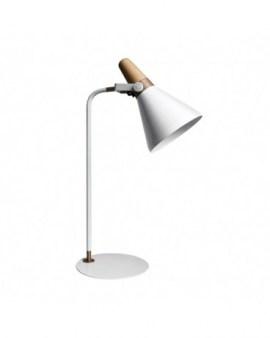 RABAT! DO -18% ZUMA H1833 LAMPA BIURKOWA BIAŁA/BIAŁA