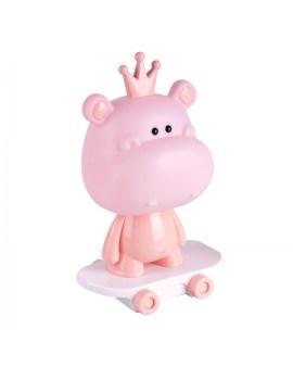 RABAT! DO -18% POLUX 314796 HIPCIO Lampka dziecięca biurkowa LED HIPCIO różowy na deskorolce 2,5W