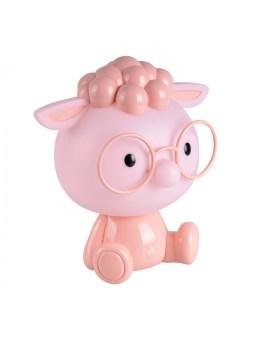 RABAT! DO -18% POLUX 314772 Lampka nocna biurkowa dziecięca OWCA różowa LED 2,5W