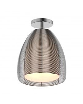 RABAT! DO -18% ZUMA MX9023-1L PICO LAMPA SUFITOWA SREBRNA