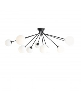 RABAT! DO -18% ALDEX 1082PL_M1 HOLM 10 BLACK LAMPA sufitowa