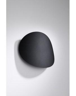 LEDIVO Kinkiet ORI CZARNY refleksy dyskretne światło