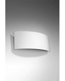 LEDIVO Kinkiet INEA biały Nowoczesna Oprawa Lampa ścienna minimalistyczny design