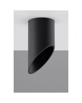 Lampa sufitowa Plafon TUBA 20 czarny