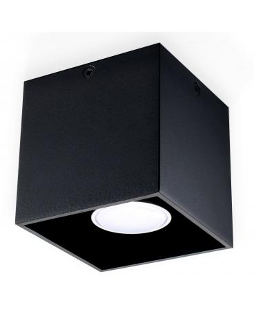 Plafon NEPTUN 1 czarny
