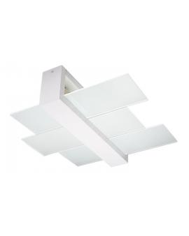 Plafon LUNA Biały 2pł