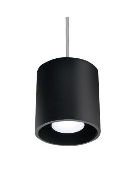 Lampa wisząca PLUTON 1pł. czarny