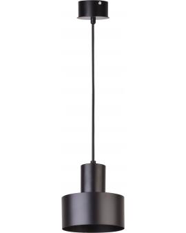 Metalowa lampa wisząca Rif S okrągła oprawa zwis czarny 30897 SIGMA 24h!