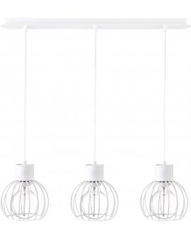 Lampa druciana Luto koło 3 biały mat 31167 SIGMA 24h!