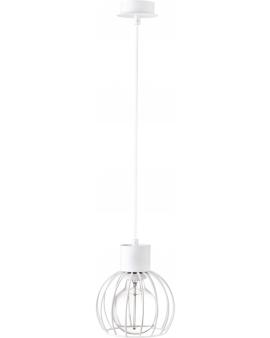 Lampa wisząca Luto koło 1 biały retro loft edison 31165 SIGMA 24h!