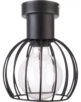 Lampa plafon Luto koło 1 czarny retro edison 31157 SIGMA 24h!