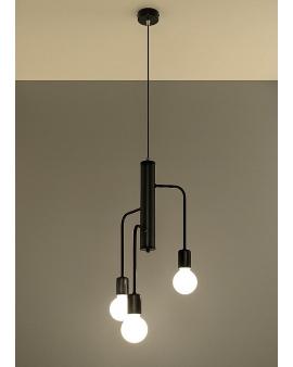 LAMPA wisząca STICKS 3 industrialna EDISON vintage 24h!