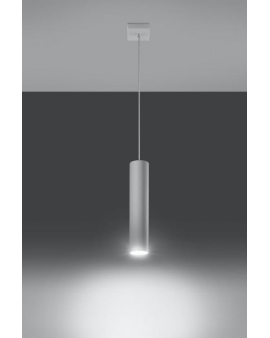 Lampa wisząca LAGOS 1 biała.