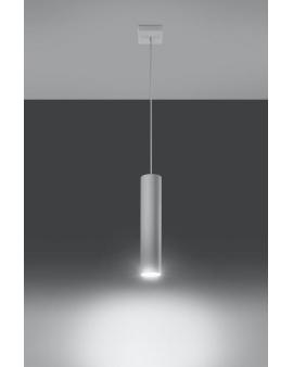 Lampa wisząca Lanca 1 biała 24h!