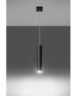 Lampa wisząca Lanca 1 czarna 24h!