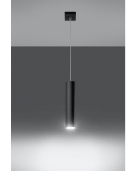 Lampa wisząca LAGOS 1 czarna.