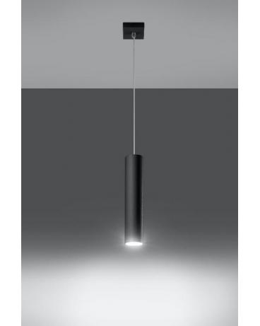 Lampa wisząca LANCA 1 czarna