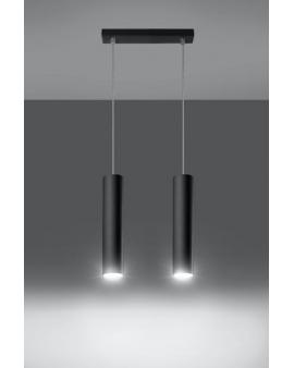 Lampa wisząca LAGOS 2 czarna.