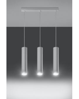 Lampa wisząca LAGOS3 biała.