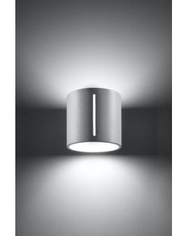 Lampa ścienna Zine biała Aluminium 24h!