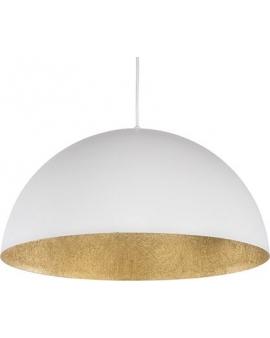 Lampa wisząca SFERA 35cm biały/złoty