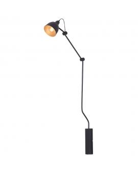 Kinkiet LAMPA ścienna BIBI mały 834C regulowane ramiona na wysięgniku