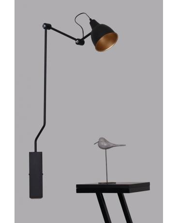 Inne rodzaje IKEA Kinkiet LAMPA ścienna BIBI mały 834C ALDEX na wysięgniku SP13