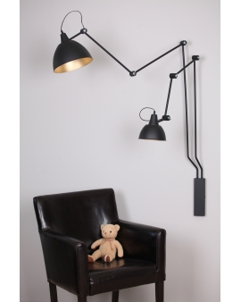 Kinkiet LAMPA ścienna BIBI duży ALDEX regulowane ramiona na wysięgniku