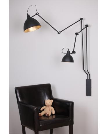 Kinkiet LAMPA ścienna BIBI duży 843D ALDEX regulowane ramiona na wysięgniku
