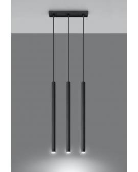 LAMPA wisząca ROLLER listwa 3/G9/25mm/CZ