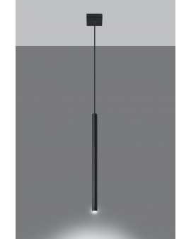 LAMPA wisząca ROLLER listwa 1/G9/25mm/CZ