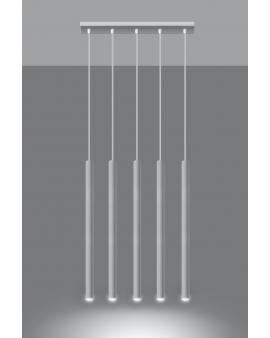 LAMPA wisząca ROLLER listwa 5/G9/25mm/BI