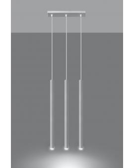 LAMPA wisząca ROLLER listwa 3/G9/25mm/BI