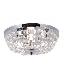 Żyrandol kryształowy COSTA lampa wisząca z kryształkami