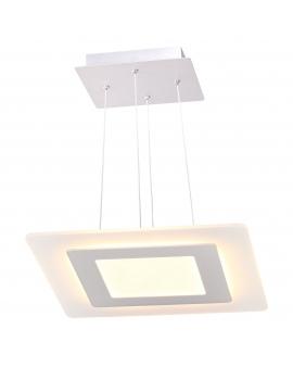 WYS.24H! LAMPA wisząca LED FLORIDA RING kwadrat 25W 1500lm żyrandol