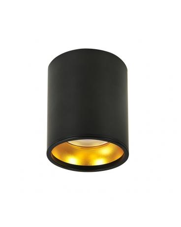 WYS.24H! Lampa Sufitowa Halogen ETNA Plafon czarny spot LED gold GU10