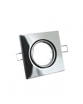 WYS.24H! Ruchoma Oprawa RADAN Sufitowa Chrom Metal GU10/MR16 Kwadrat