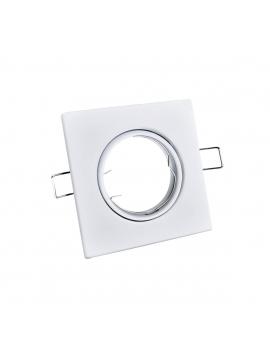 WYS.24H! Sufitowa Oprawa Metal RADAN Ruchoma Biała GU10/MR16 Kwadrat