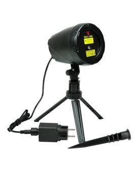 Projektor Laserowy 9 trybów 5W 12cm 5V IP44 Czarny